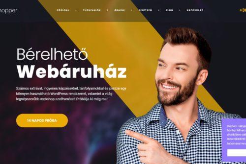 Havidíjas webshop, bérelhető webáruház – mit kell tudni