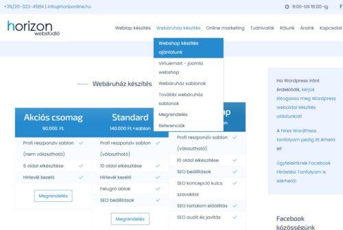 Joomla webshop okosan